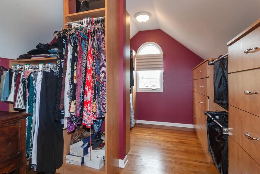 Real Estate Photography - 915 Burnham Court, Aurora, IL, 60502 - Master Bedroom Closet