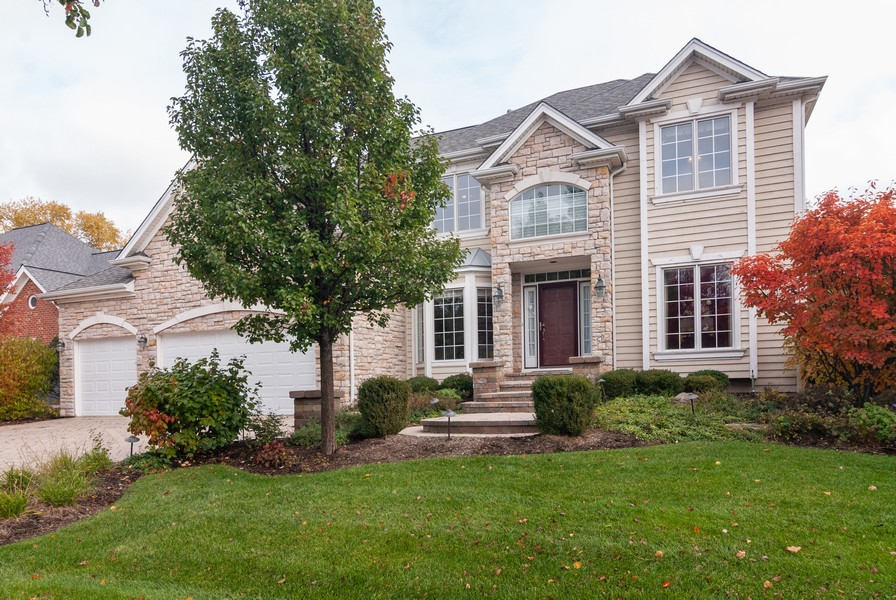 Real Estate Photography - 915 Burnham Court, Aurora, IL, 60502 - Front View