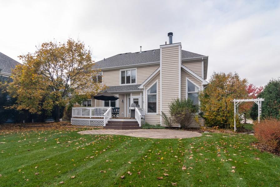 Real Estate Photography - 915 Burnham Court, Aurora, IL, 60502 - Rear View