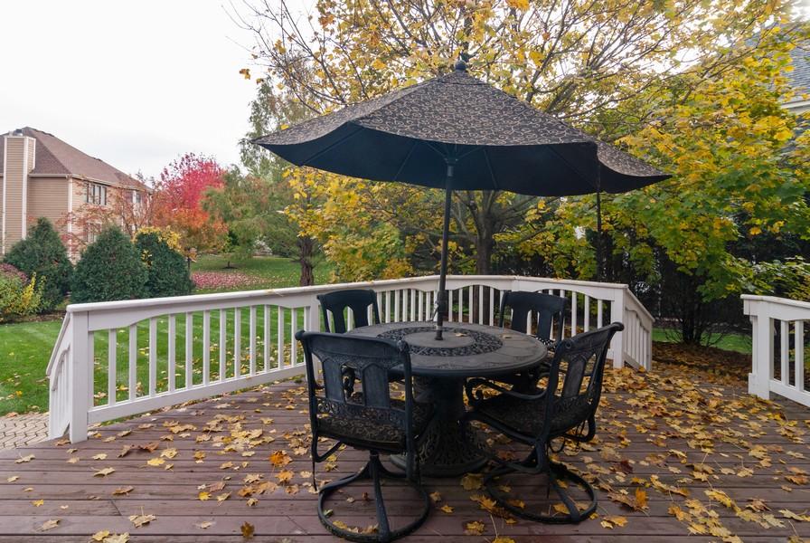 Real Estate Photography - 915 Burnham Court, Aurora, IL, 60502 - Deck