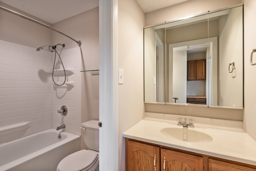 Real Estate Photography - 367 E 59Th Place, Merriville, IN, 46410 - Bathroom
