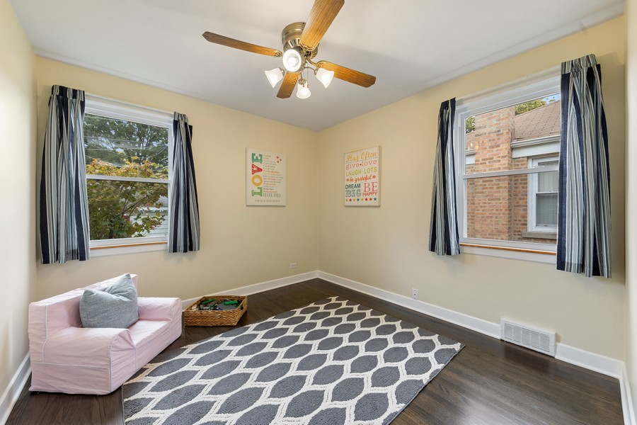 Real Estate Photography - 2230 South 11th Ave, North Riverside, IL, 60546 - 3rd Bedroom