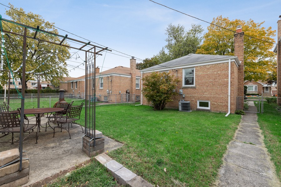 Real Estate Photography - 2230 South 11th Ave, North Riverside, IL, 60546 - Rear View