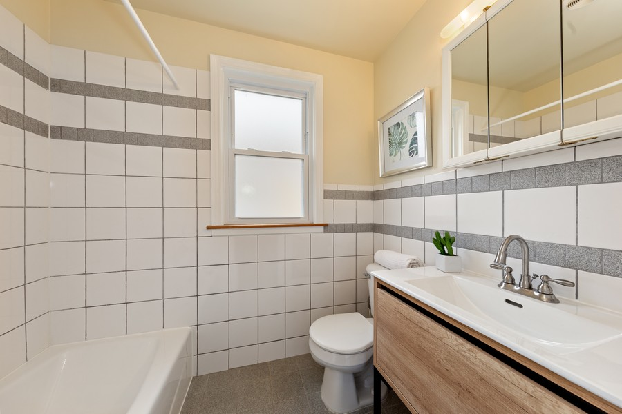 Real Estate Photography - 2230 South 11th Ave, North Riverside, IL, 60546 - Bathroom