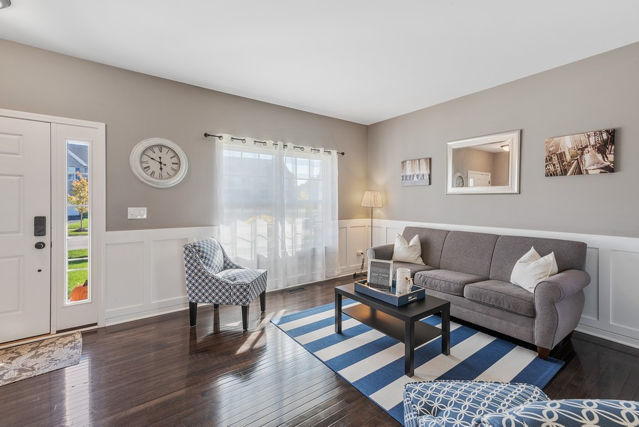 Real Estate Photography - 1503 Ascot Street, Joliet, IL, 60431 - Living Room