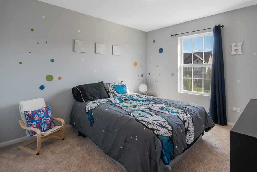 Real Estate Photography - 1503 Ascot Street, Joliet, IL, 60431 - 3rd Bedroom