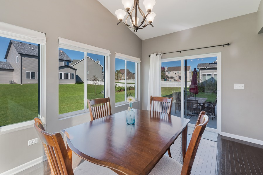 Real Estate Photography - 1503 Ascot Street, Joliet, IL, 60431 - Dining Room