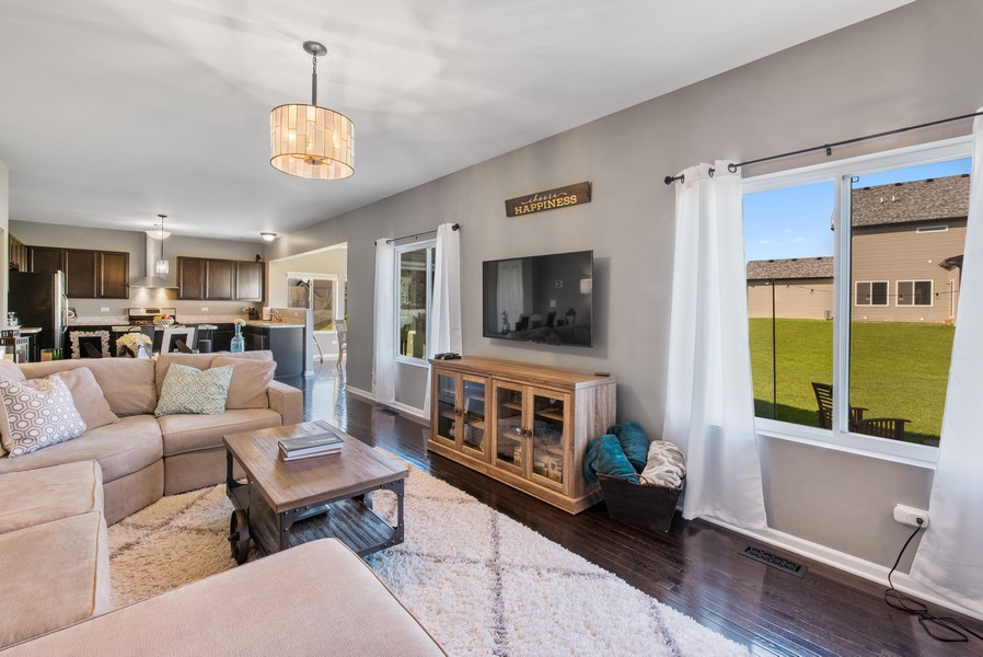 Real Estate Photography - 1503 Ascot Street, Joliet, IL, 60431 - Family Room