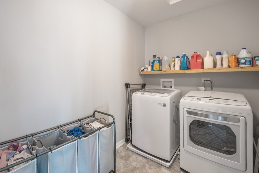 Real Estate Photography - 1503 Ascot Street, Joliet, IL, 60431 - Laundry Room
