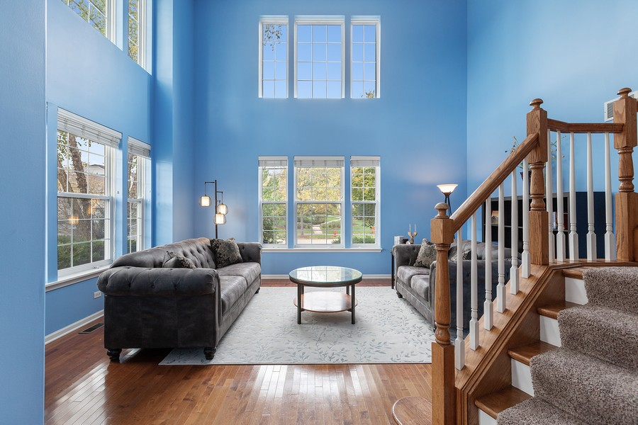 Real Estate Photography - 1300 Mulberry, Cary, IL, 60013 - Living Room