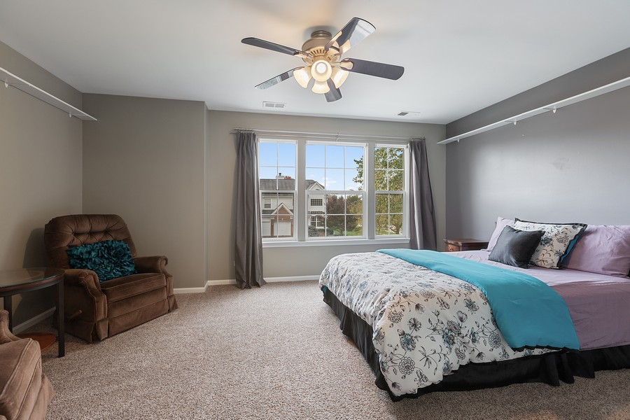 Real Estate Photography - 1300 Mulberry, Cary, IL, 60013 - 3rd Bedroom