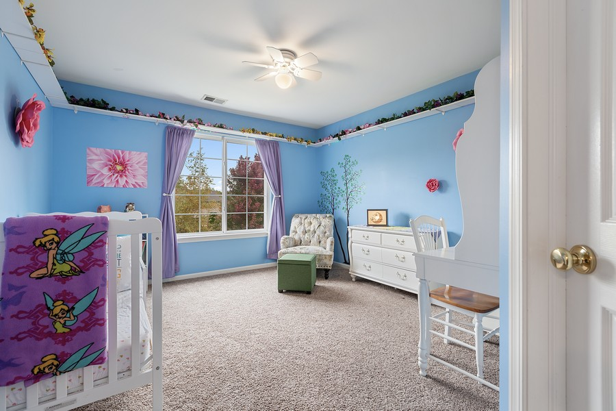 Real Estate Photography - 1300 Mulberry, Cary, IL, 60013 - 2nd Bedroom