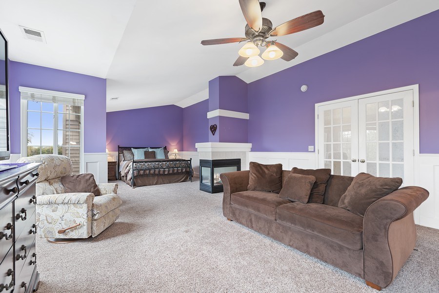 Real Estate Photography - 1300 Mulberry, Cary, IL, 60013 - Master Bedroom