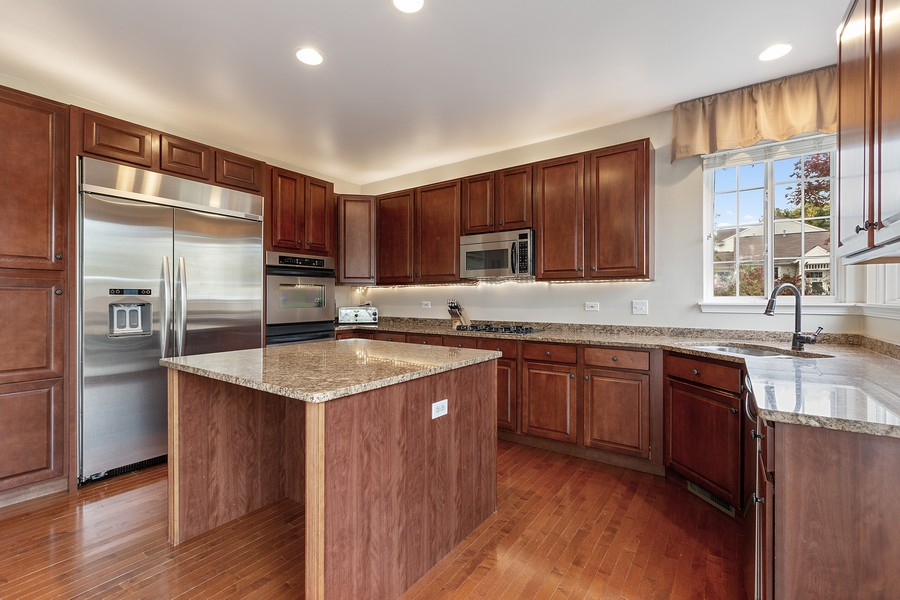 Real Estate Photography - 1300 Mulberry, Cary, IL, 60013 - Kitchen