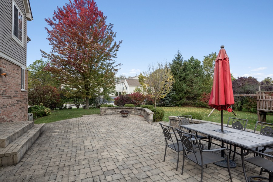 Real Estate Photography - 1300 Mulberry, Cary, IL, 60013 - Patio