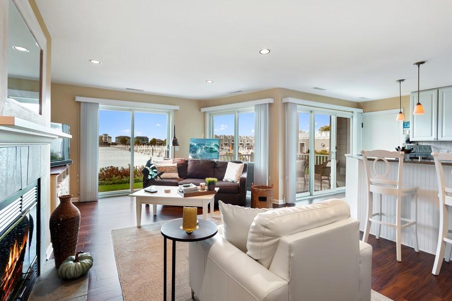 Real Estate Photography - 300 Oselka Dr, Unit 163, New Buffalo, MI, 49117 - Living Room