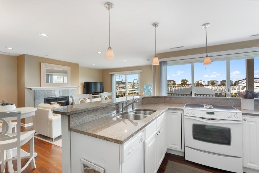 Real Estate Photography - 300 Oselka Dr, Unit 163, New Buffalo, MI, 49117 - Kitchen