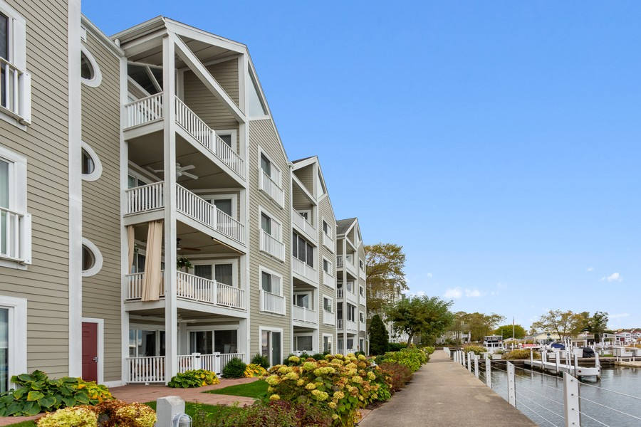 Real Estate Photography - 300 Oselka Dr, Unit 163, New Buffalo, MI, 49117 - Front View