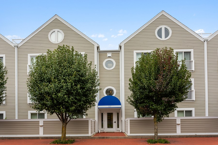 Real Estate Photography - 300 Oselka Dr, Unit 163, New Buffalo, MI, 49117 - Rear View