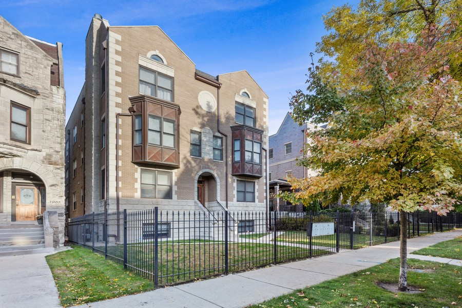 Real Estate Photography - 3971 S Ellis St, chicago, IL, 60653 - Front View