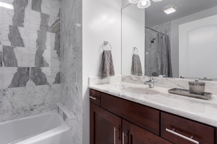 Real Estate Photography - 3971 S Ellis St, chicago, IL, 60653 - Bathroom