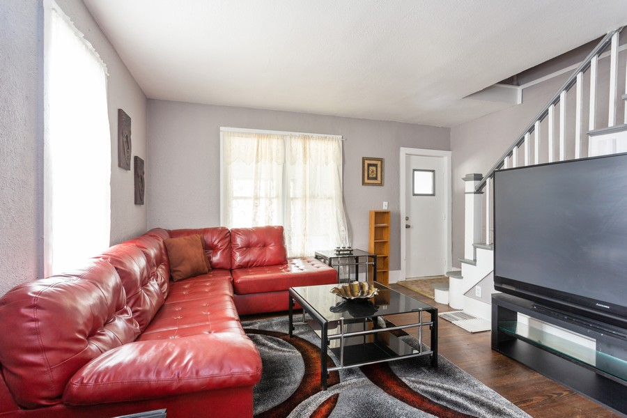 Real Estate Photography - 115 Case St, Michigan City, IN, 46360 - Living Room
