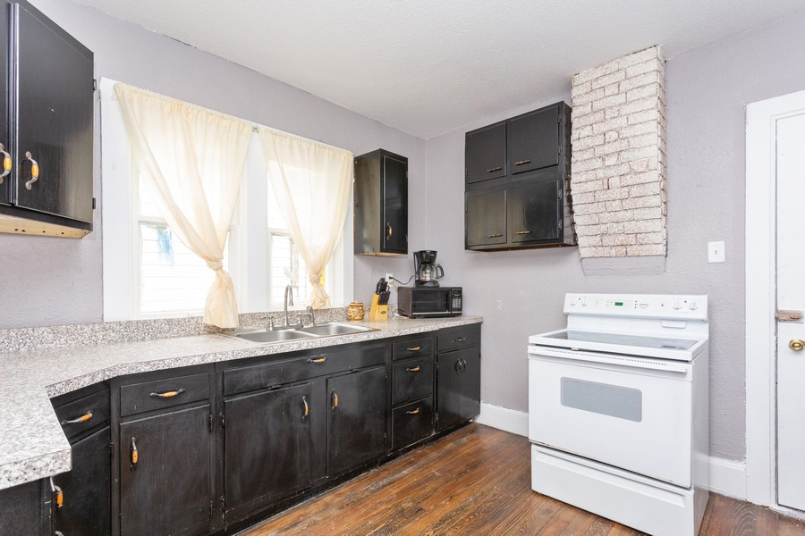 Real Estate Photography - 115 Case St, Michigan City, IN, 46360 - Kitchen