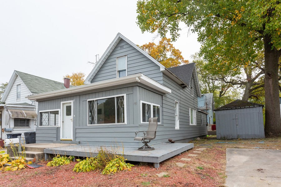 Real Estate Photography - 115 Case St, Michigan City, IN, 46360 - Front View