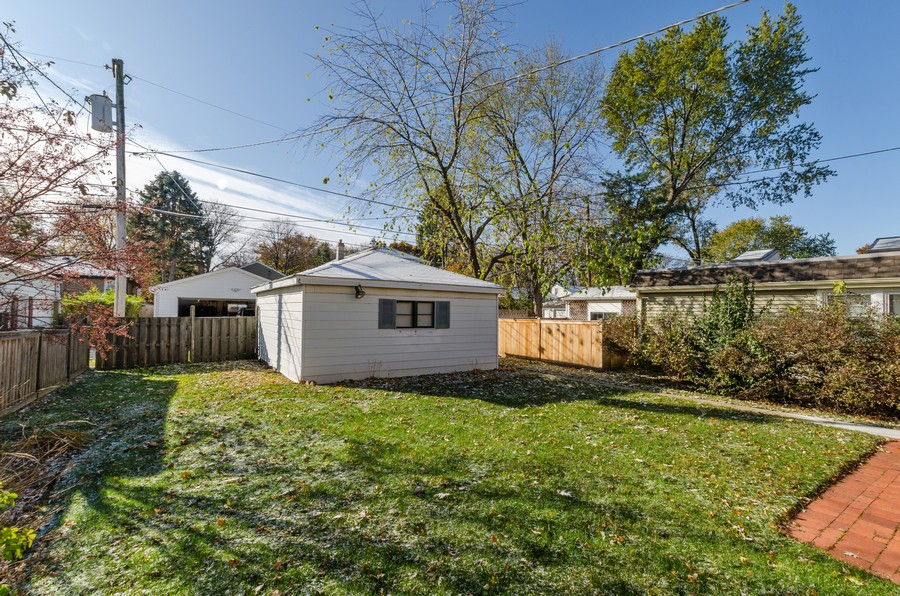 Real Estate Photography - 5319 Arcadia, Skokie, IL, 60077 - Back Yard