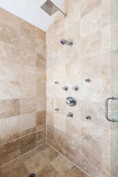 Real Estate Photography - 3231 N Racine, Unit 3, Chicago, IL, 60657 - Master Bathroom