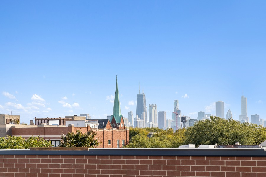 Real Estate Photography - 3231 N Racine, Unit 3, Chicago, IL, 60657 - View