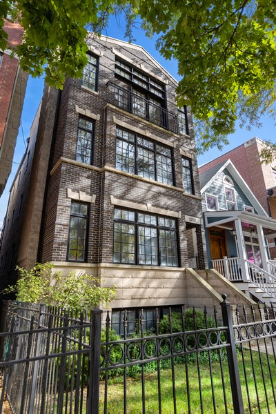 Real Estate Photography - 3231 N Racine, Unit 3, Chicago, IL, 60657 - Front View
