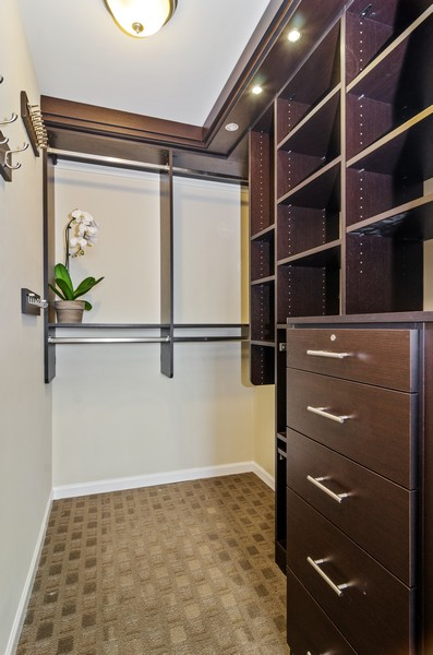 Real Estate Photography - 2800 N. Lake Shore Drive, Unit 1716, Chicago, IL, 60657 - Master California Closets