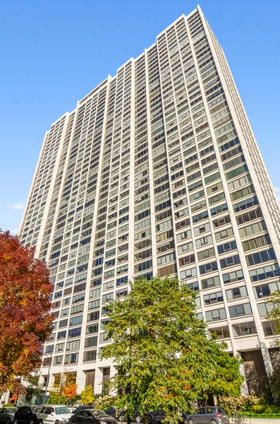 Real Estate Photography - 2800 N. Lake Shore Drive, Unit 1716, Chicago, IL, 60657 - Front View