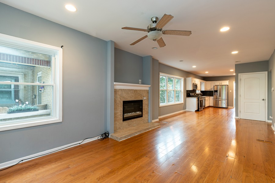 Real Estate Photography - 1416 Highland Ave, Berwyn, IL, 60402 - Living Room