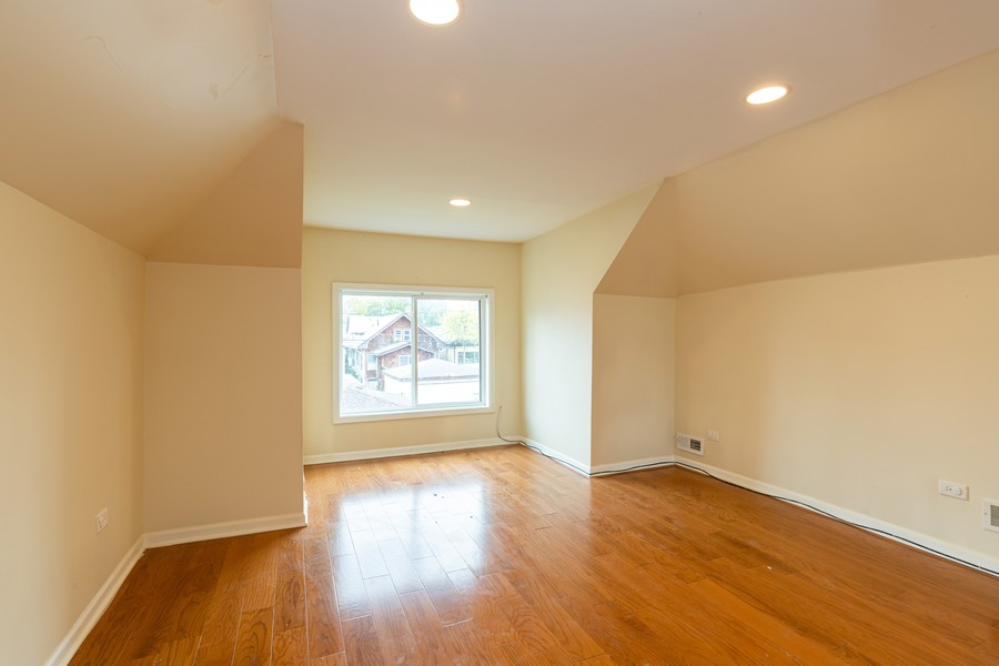 Real Estate Photography - 1416 Highland Ave, Berwyn, IL, 60402 - Master Bedroom