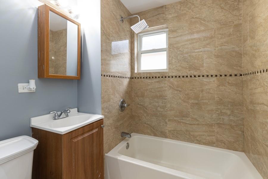 Real Estate Photography - 1416 Highland Ave, Berwyn, IL, 60402 - Bathroom