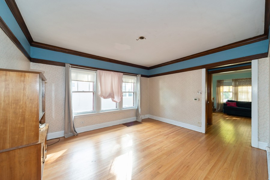 Real Estate Photography - 611 S Saylor, Elmhurst, IL, 60126 - Dining Room