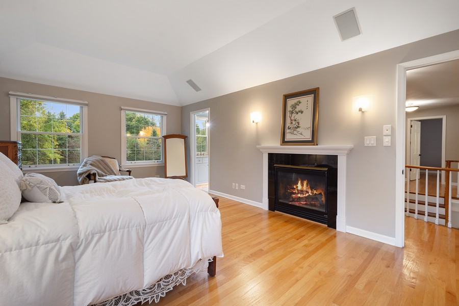 Real Estate Photography - 108 Fox Hunt Trl, Barrington, IL, 60010 - Master Bedroom
