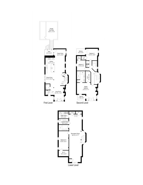 Real Estate Photography - 1252 W Roscoe ST, Chicago, IL, 60657 - Floor Plan