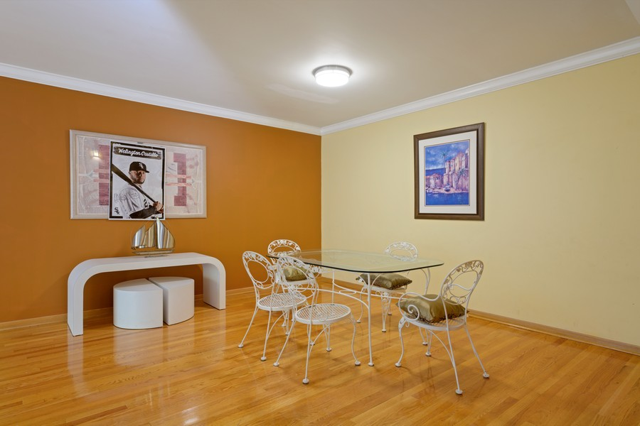 Real Estate Photography - 1433 S Prairie Ave, Chicago, IL, 60605 - Dining Room