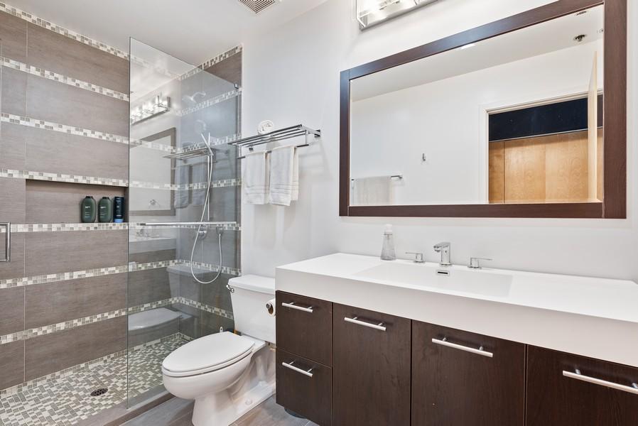 Real Estate Photography - 2300 W Wabansia, Unit 220, Chicago, IL, 60647 - Master Bathroom