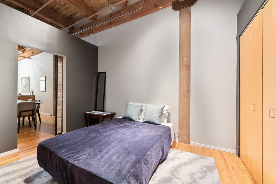 Real Estate Photography - 2300 W Wabansia, Unit 220, Chicago, IL, 60647 - 2nd Bedroom