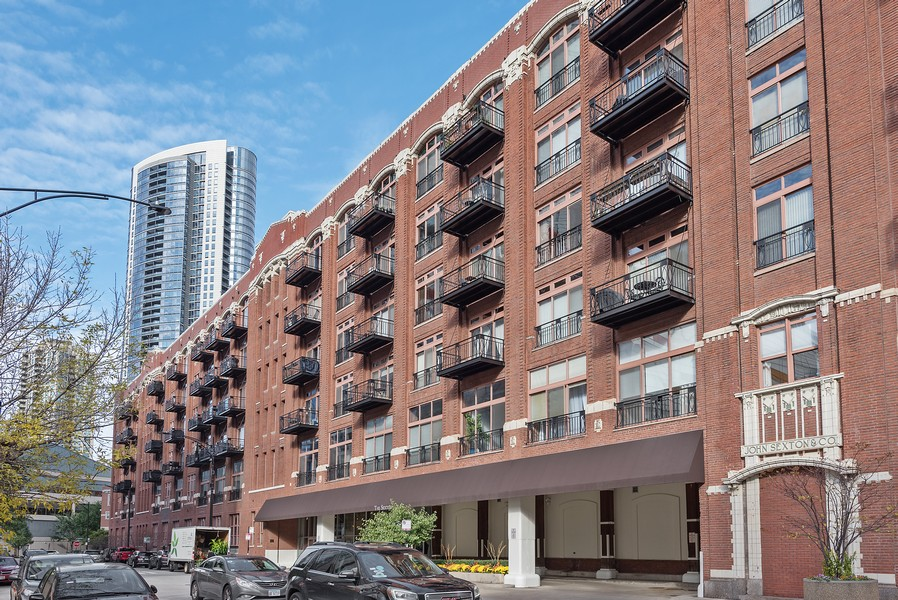 Real Estate Photography - 360 W Illinois Street, Apt 9D, Chicago, IL, 60654 - Front View