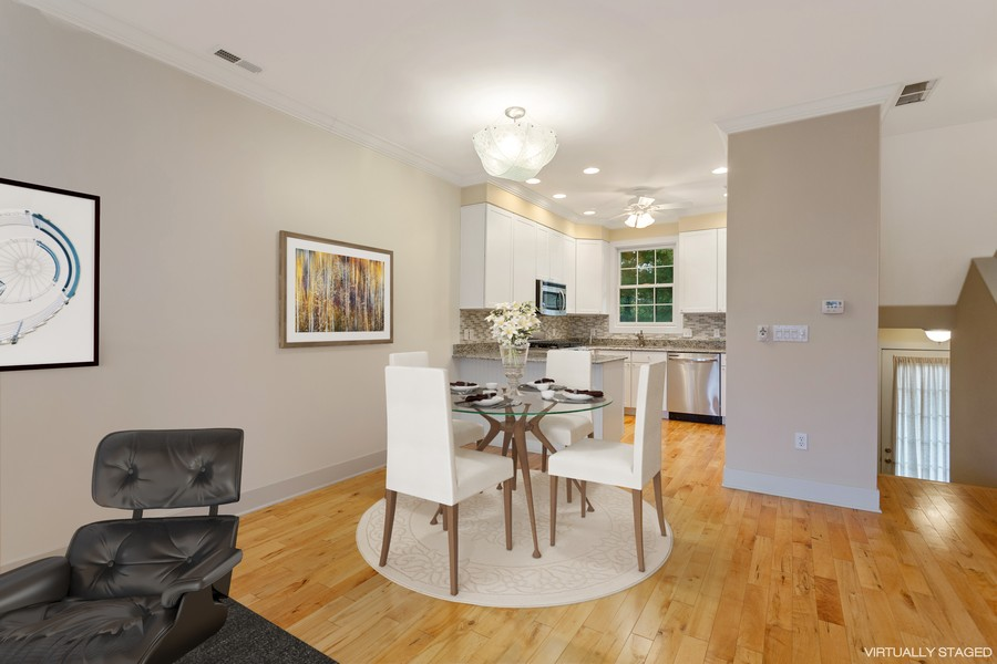 Real Estate Photography - 105 N Thompson St, New Buffalo, MI, 49117 - Dining Room