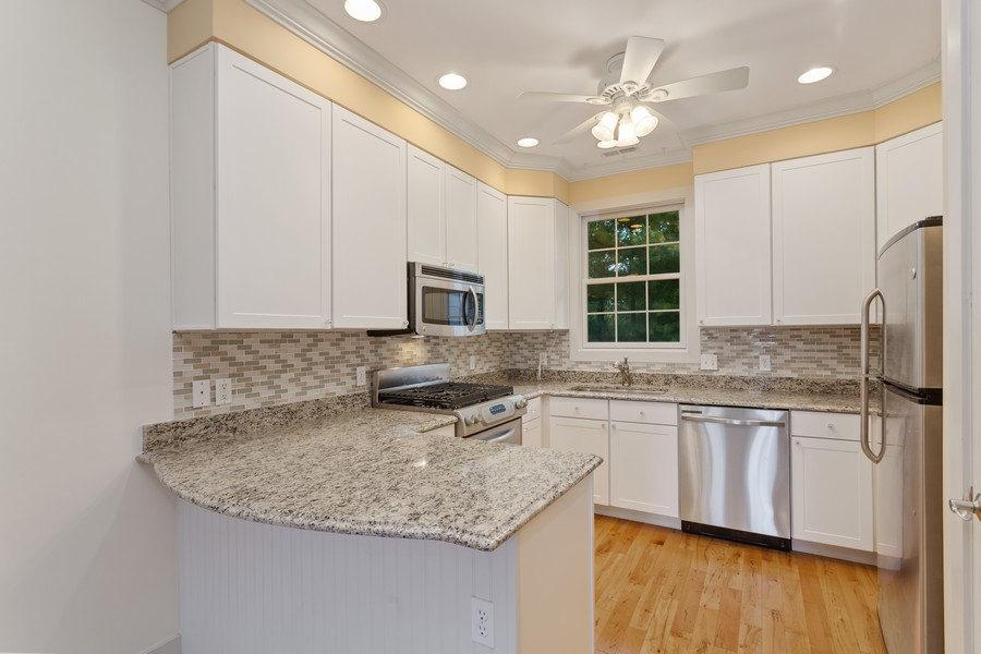 Real Estate Photography - 105 N Thompson St, New Buffalo, MI, 49117 - Kitchen