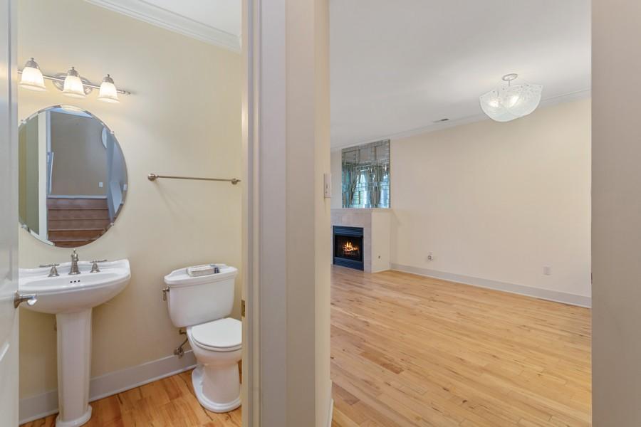 Real Estate Photography - 105 N Thompson St, New Buffalo, MI, 49117 - Half Bath