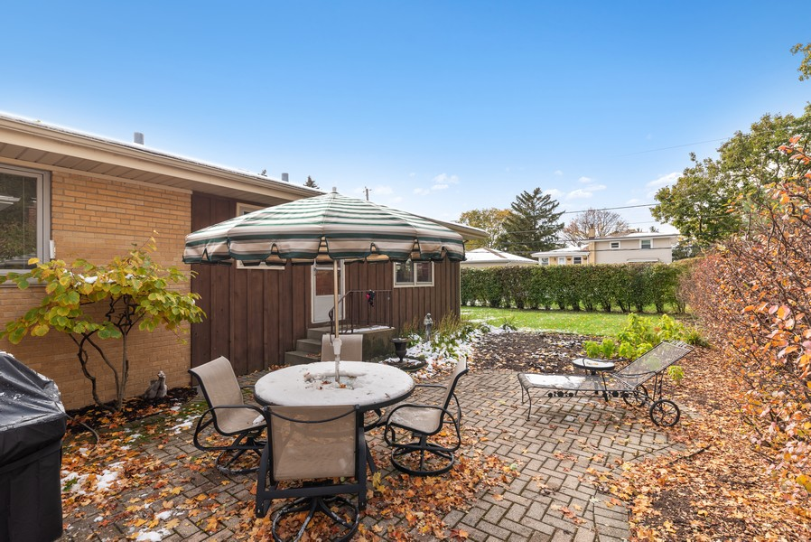 Real Estate Photography - 610 N Wilshire, Arlington Heights, IL, 60004 - Patio