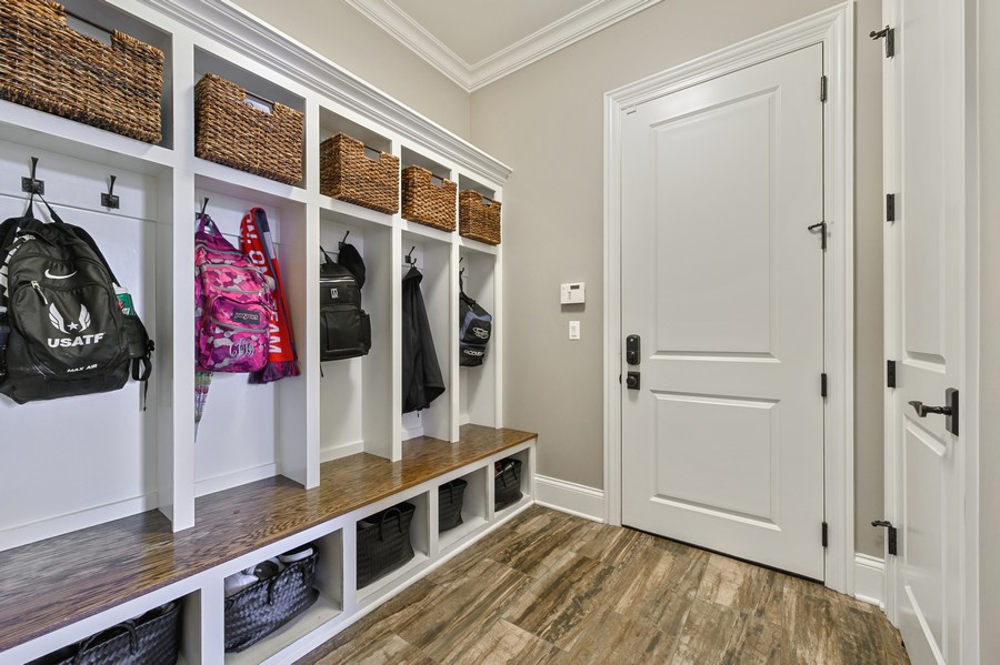 Real Estate Photography - 4425 Oakwood Ave, Downers Grove, IL, 60515 - Mudroom