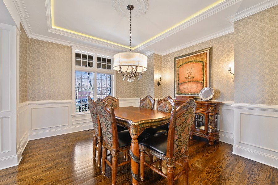 Real Estate Photography - 4425 Oakwood Ave, Downers Grove, IL, 60515 - Dining Room